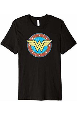 Urban Species DC Comics Wonder Woman Logo Circle Distressed