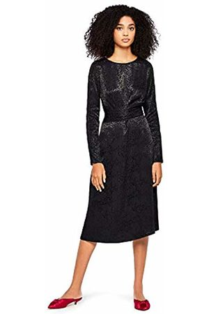 FIND Leopard Jacquard Wrap Dress