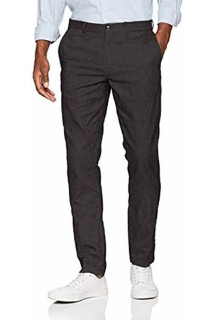 Tommy Hilfiger Men's Straight Denton Chino Wool Look Trouser