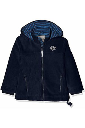 sigikid Boy's Fleece Jacke, Mini Jacket, (Blau (Mood Indigo 275)