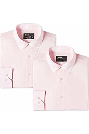 Hem & Seam Men's Regular Fit Formal Shirt, Pack of 2