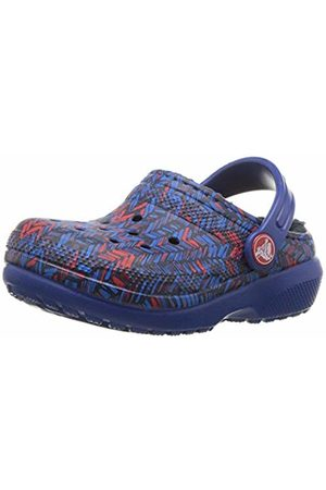 Crocs Clogs - Unisex Kids' Classic Lined Graphic Clog Kids Clogs