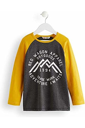 RED WAGON Contrast Long Sleeve Top