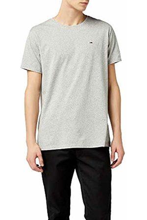 Tommy Hilfiger Men's TJM Original Jersey Tee T-Shirt, (Lt HTR 038)