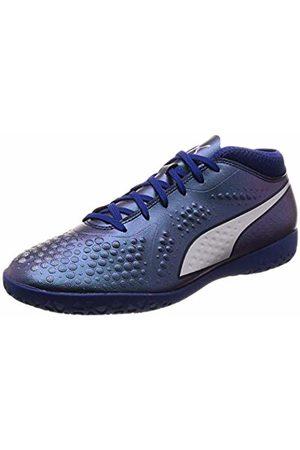 Puma Men's ONE 4 Syn IT Footbal Shoes, Sodalite -Peacoat