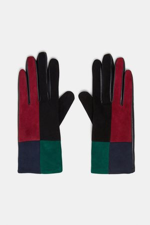 Zara Gloves - SPECIAL EDITION PATCHWORK LEATHER GLOVES