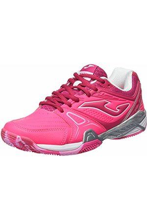 Joma Women''s T.Match Lady 610 Clay Fucsia-Morado Tennis Shoes