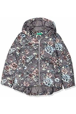 Benetton Girl's Jacket, Dark Gray-All-Over