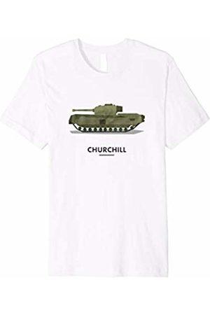 Tank Tees Churchill British Tank T Shirt