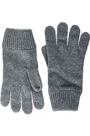 GANT Men's O2. Knitted Wool Gloves (Dark Melange)