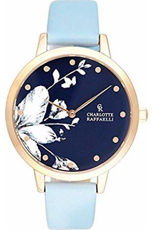 Charlotte Raffaelli Unisex-Adult Analogue Classic Quartz Watch with PU Strap CRF042