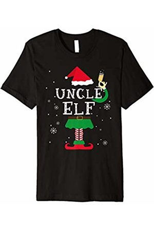 Uncle Christmas Elf Holiday Gifts By Amy Uncle Elf Matching Family Christmas T-Shirt Pajamas Elves