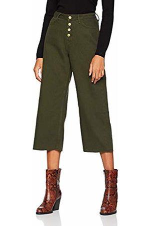 New Look Women's 5977792 Trousers, (Dark Khaki)