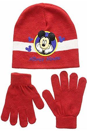 Disney Unisex Child Conjunto 2 Pcs Gorro + Guantes Mickey Set 2 Pcs Hat + Gloves