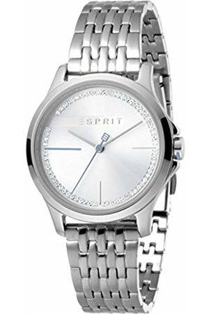 Esprit Womens Analogue Quartz Watch with Stainless Steel Strap ES1L028M0055