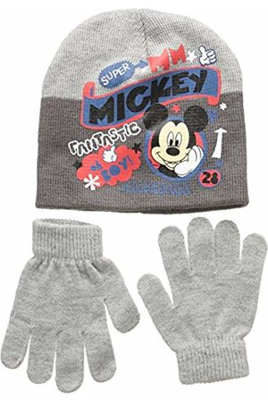 Disney Unisex Child Conjunto 2 Pcs Gorro + Guantes Mickey Set 2 Pcs Hat + Gloves