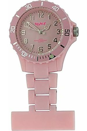 Funky Medical Nurse Neon Fob Watch - Baby Pink