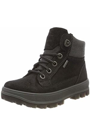 Superfit Boys' TEDD Snow Boots, (Schwarz Kombi 02)