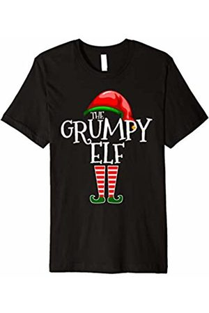 The Christmas Apparel Co. Funny Christmas Shirt The Grumpy Elf Matching Family Gift
