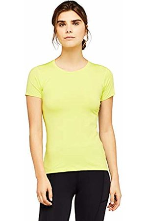Activewear Women's Sports Top Cap Sleeve Mesh Back