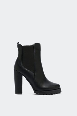 NASTY GAL Womens Top of the World Chelsea Boot - - 3