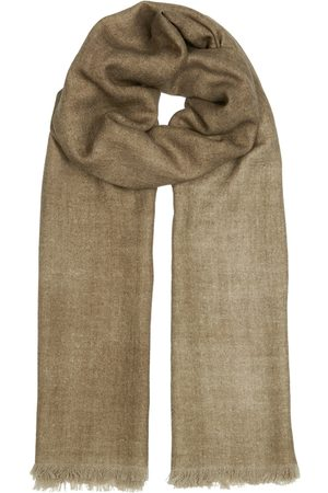 AMA Pure Women Scarves - Olive Wool Scarf