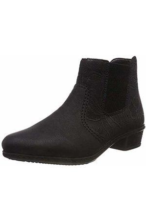 Rieker Women''s Y07a6 Chelsea Boots, Schwarz 00