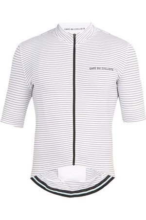 Cafe du Cycliste Francine Zipped Technical-jersey Cycling Top - Mens - Multi