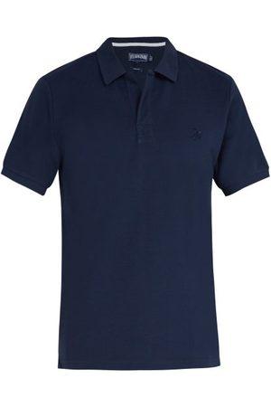 Vilebrequin Palatin Cotton-piqué Polo Shirt - Mens - Navy