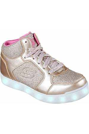 Skechers Girls' Energy Lights: E-Pro Glitter Glow Hi-Top Trainers, ( Gld)