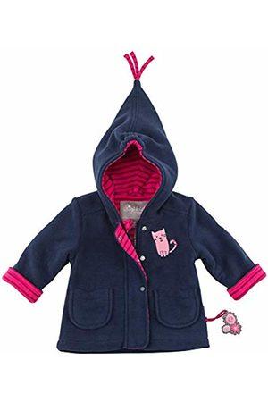 sigikid Girls' Fleece Jacke, Baby Jacket, (Blau (Mood Indigo 275)