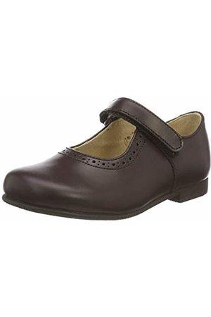 Start Rite Delphine, Girls' Ballet Flat, Marron ( Leather)