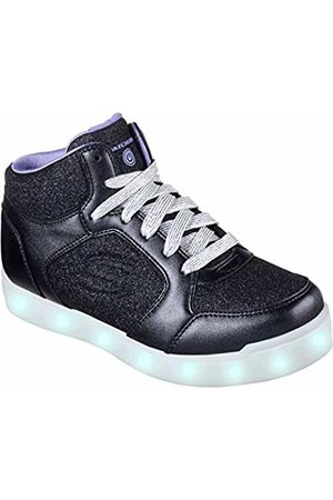 Skechers Girls' Energy Lights: E-Pro Glitter Glow Hi-Top Trainers