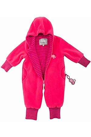 sigikid Girls' Fleece Overall, Baby Snowsuit, (Rot (Raspberry Sorbet 678)