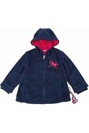 sigikid Girl's Fleece Jacke, Mini Jacket, (Blau (Mood Indigo 275)