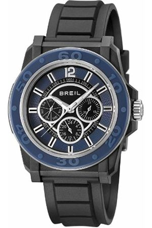 Breil Men's Quartz Watch with Dial Analogue Display and PU Strap TW0842