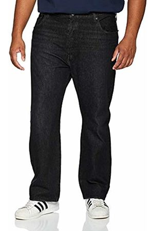 Levi's Big and Tall Men's 501 Button Fly B&t Straight Jeans, (Air Dry Warp 0076)