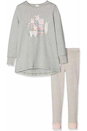 Schiesser Girl's Md Anzug Lang Pyjama Sets, ( Blend 202)