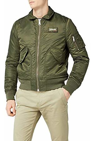 Schott NYC Men's 210100 Bomber Varsity Jacket