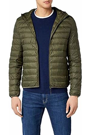 Urban Classic Men's Basic Hooded Down Jacket