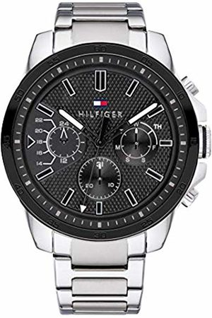 Tommy Hilfiger Mens Multi dial Quartz Watch with Stainless Steel Strap 1791564