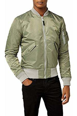 Schott NYC Men's JKTAC Jacket, Kaki