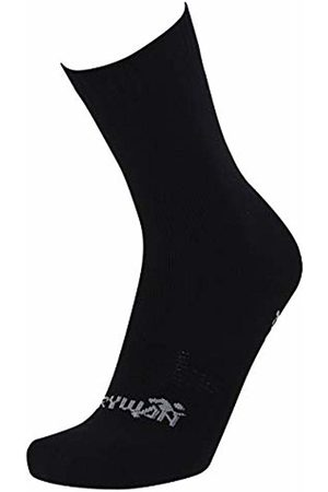 Rywan Men's Socks hosiery Knee-High Socks Noir (Noir) Size:35-37