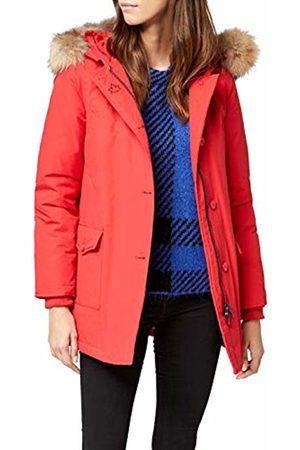 Canadian Classics Women's Down Jacket Raincoat Rot (Bright BRRE) 18