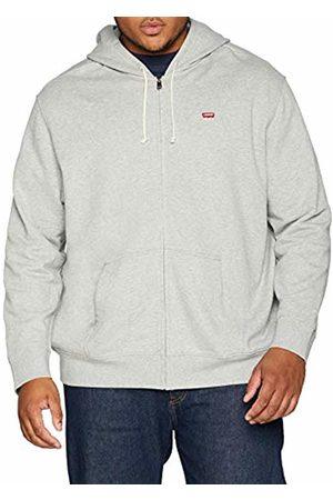 Levi's Big and Tall Men's Classic Hm Zip Sweatshirt, (Medium Heather 0000)
