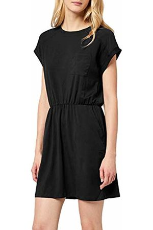 Vero Moda Women's Vmava O-Neck Ss Chiffon Dress Ga Noos