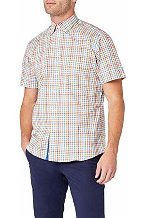 BLUEBLACK Men's Nicolas Slim Fit Short Sleeve Casual Shirt
