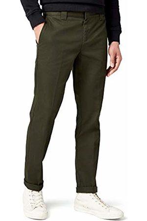 Dickies Men's Slim Fit Work Trouser, (Olive )