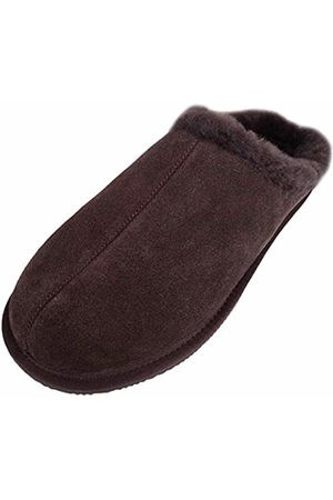 Snugrugs Men''s Newbury Open Back Slippers