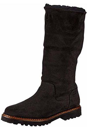 Sioux Women's Velma-Lf Boots, Schwarz (Schwarz)